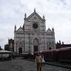 The Basilica di Santa Croce (Basilica of the Holy Cross) is the principal Franciscan church in Florence, Italy, and a minor basilica of the Roman Catholic Church. It is situated on the Piazza di Santa Croce and is the burial place of Michelangelo, Galileo and Machiavelli.