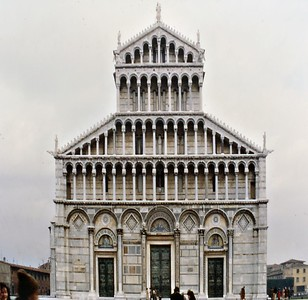 Cathedral Pisa Italy - Jan 1979