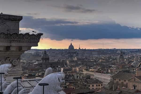 Aerial View - Rome, Italy