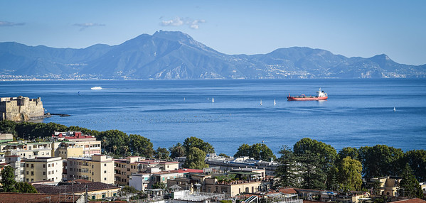 Bay Of Naples and Monte Epomeo