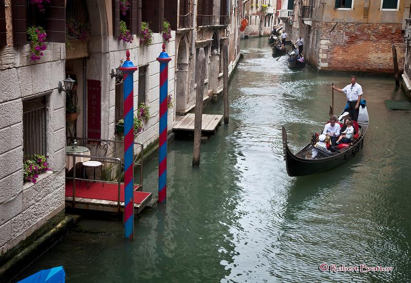 Hotel Entrance in Venice