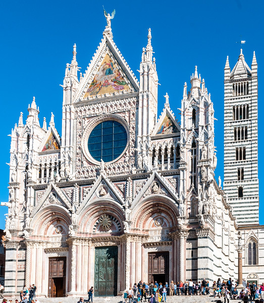 Siena Cathedral and Bell Tower