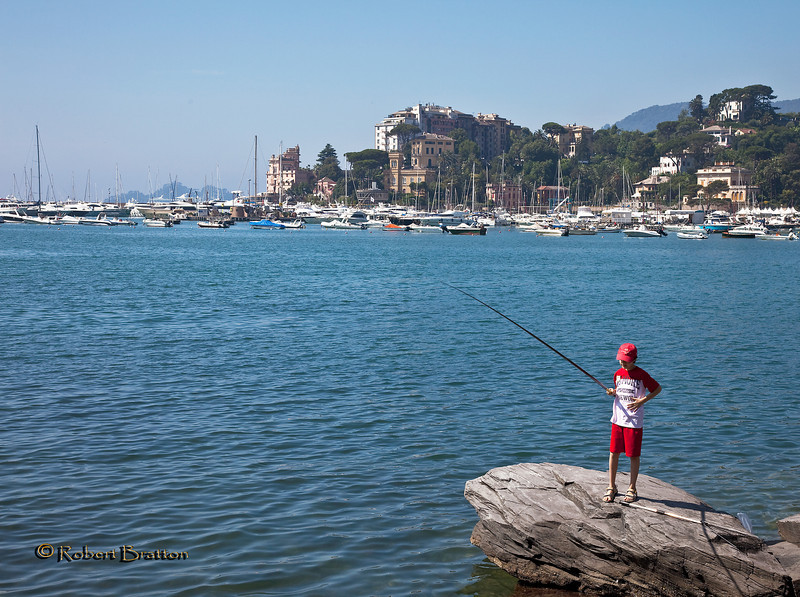 Fisherman in Rapallo