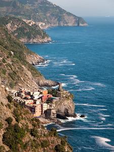 Vernazza, Corniglia and Manarola, Cinque Terre