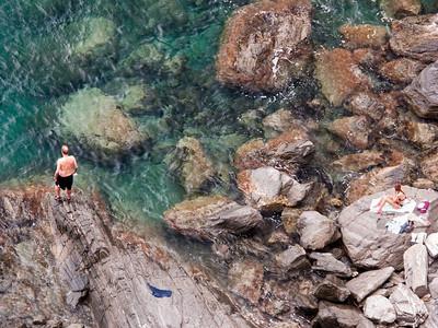 """Manarola """"Beach"""", Cinque Terre"""