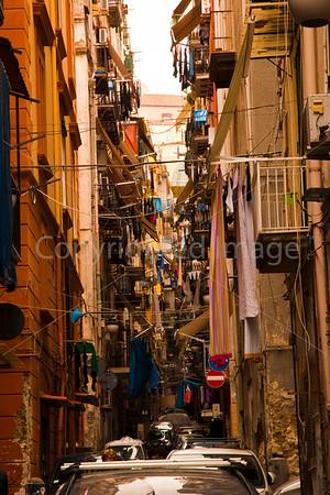 Naples-Streets of the Spanish Quarter