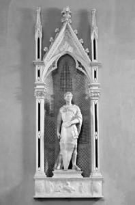 Donatello's St George (1416) Museo del Bargello, Firenza