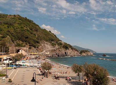 View from Alberge Pasquale, Monteroso al Mare, Cinque Terre
