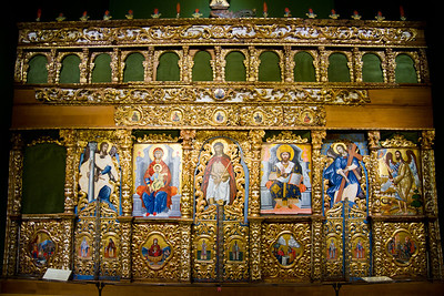 Iconostasis of Cephalonia (late 18th-early 19th century) Vatican Museum Vatican City, Italy