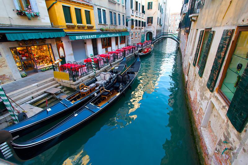Gondolas, Venezia