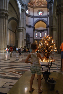 Praying in the Duomo, Florence