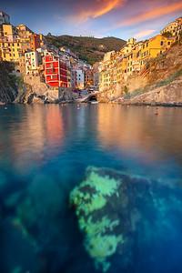 Riomaggiore, Italy.