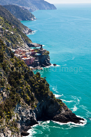 Down the coast toward Vernazza