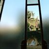 Como, Italy, Tremezzo Hotel window