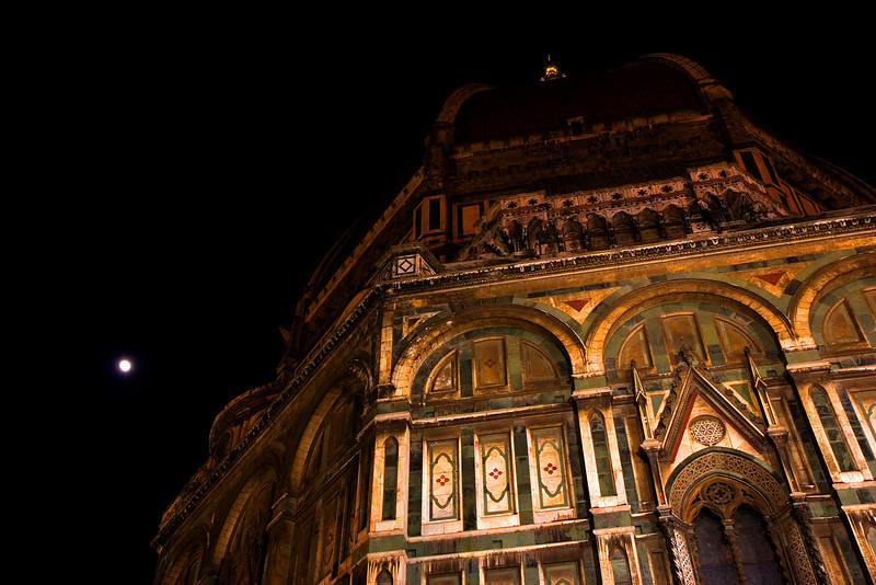 Duomo by Moonlight, Florence