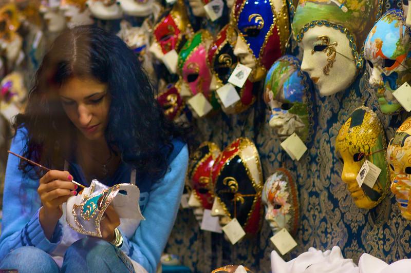 Masks painter,Venezia