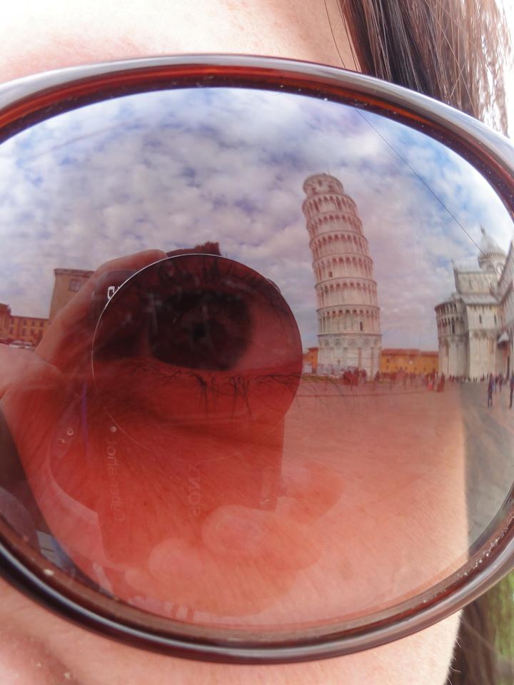 Pisa reflection