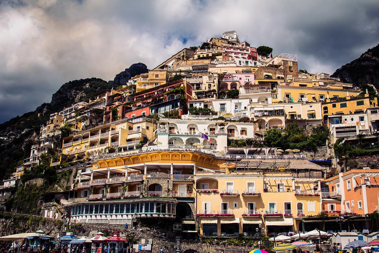 The amazingly photogenic town of Positano