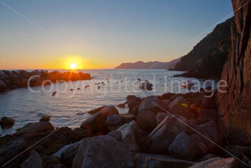 Sunset in Riomaggiore