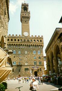 Palazzo Vecchio -- Florence, Italy