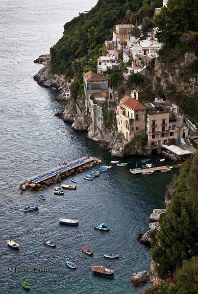 Conca del Marini on the Amalfi Coast