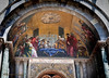 Mosaic Entrance Dome of St. Mark's Basilica in Venice