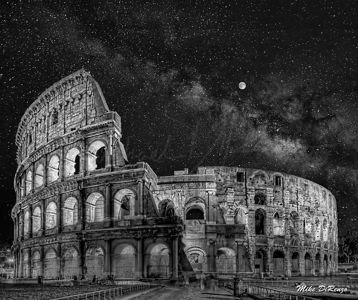 Coliseum Starry Night  5967 w61
