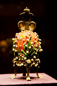 """Lilies of the Valley"" Fabergé egg, presented by Emperor Nicholas II to his wife on Easter (1898) Vatican Museum Vatican City, Italy"