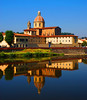 Church along the Arno River, Florence