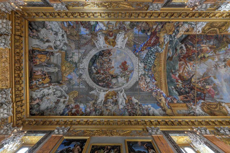 Colonna Palace of Paliano - Rome, Italy