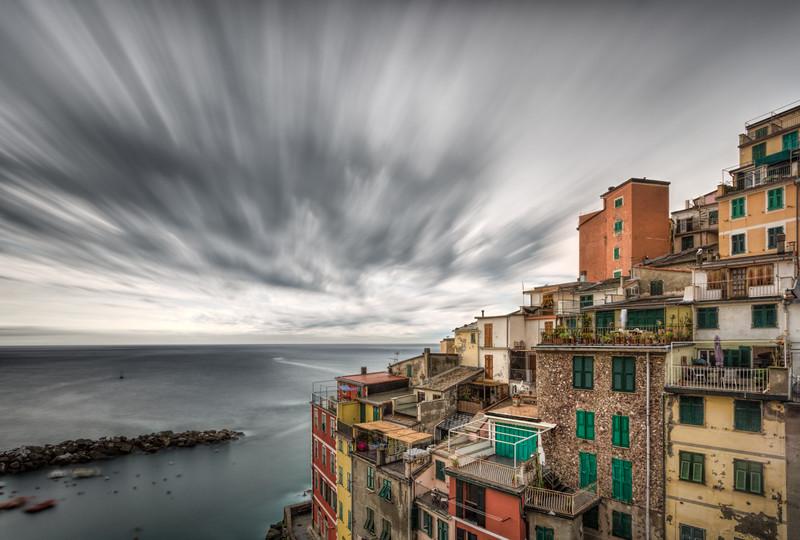 Passing Storm - Riomaggiore