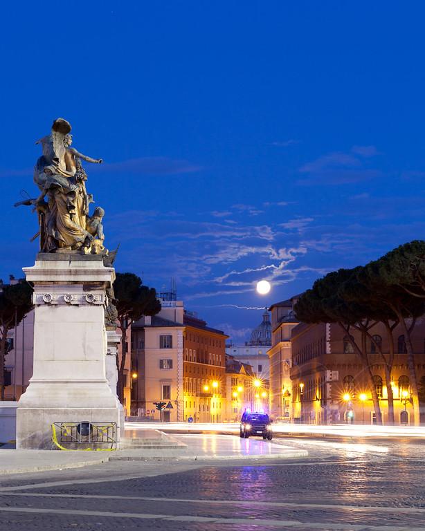 Piazza Venezia, Italy