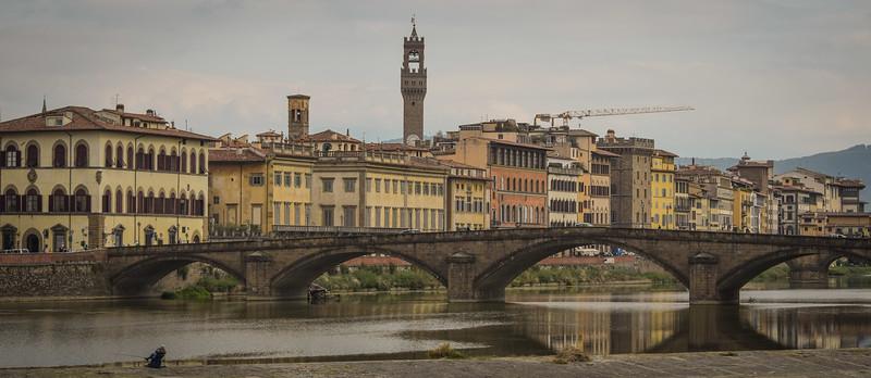 Florence: Arno & Ponte Santa Trinita