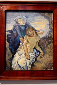 Pietà, painted by Vincent Van Gogh (1890) Vatican Museum Vatican City, Italy
