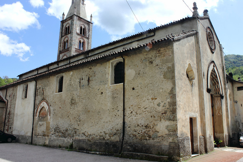 San Lorenzo church, Murialdo.