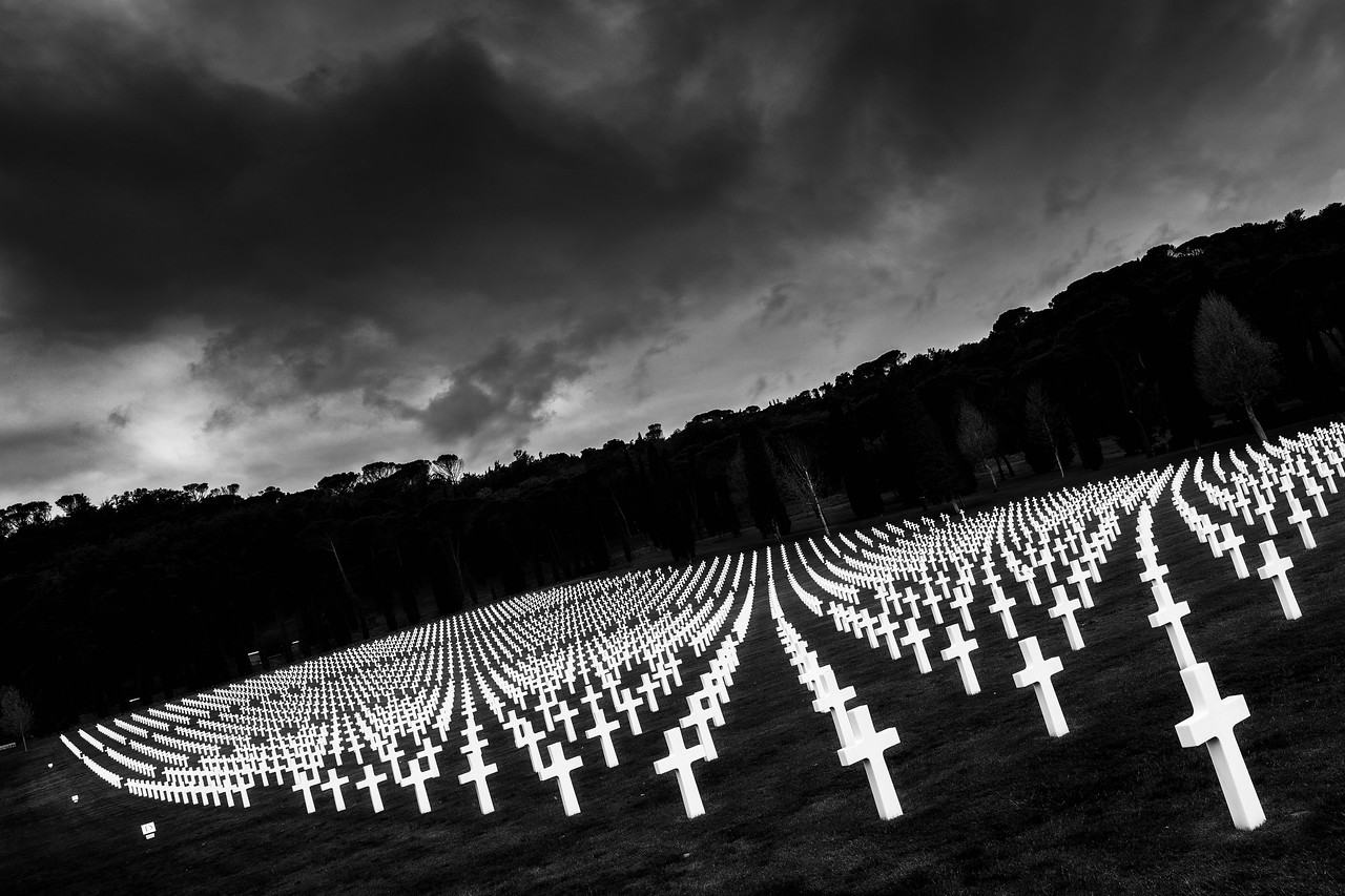 Italy-florence-american-cemetery-memorial-graves-1-1-HDR-Edit-2