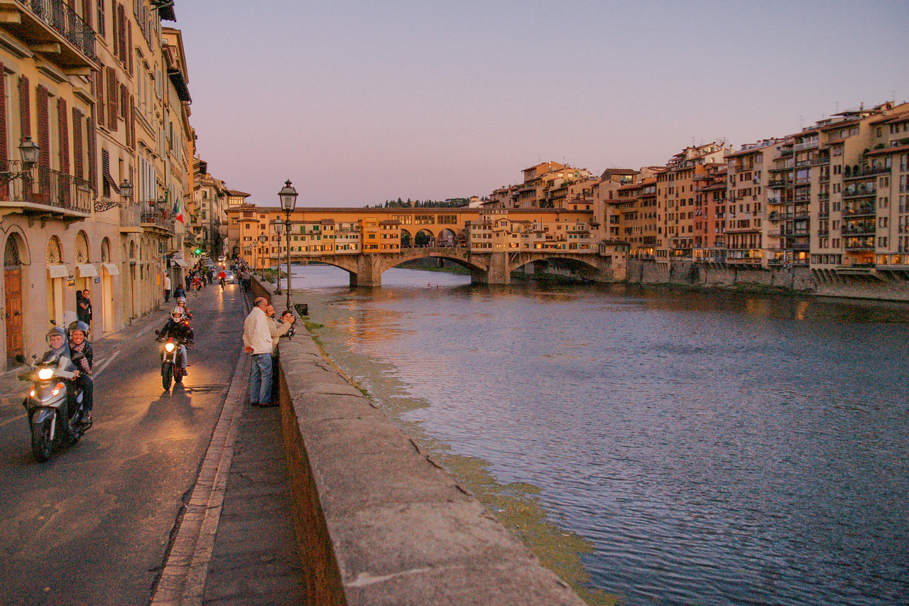 The Arno at Dusk