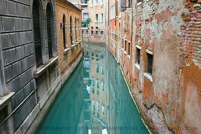 Green River.  Venice, Italy.