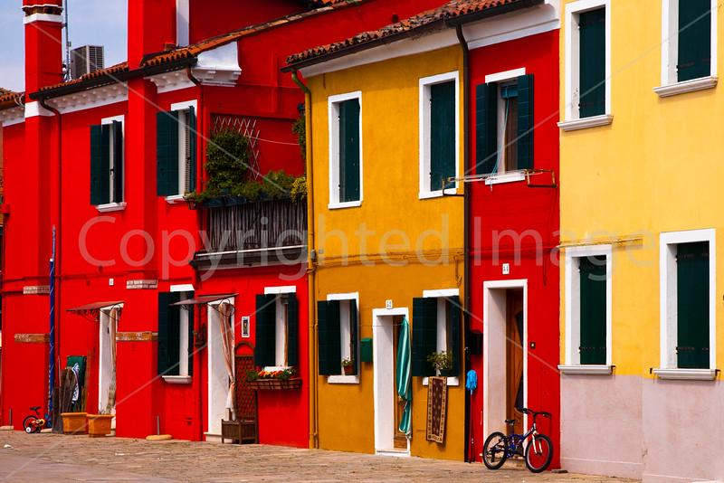 Burano-houses