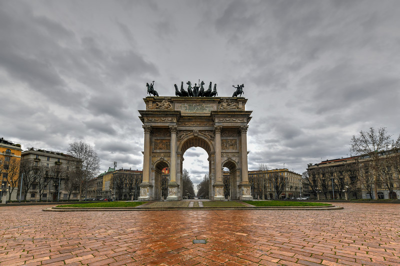 Arc of Peace - Milan, Italy