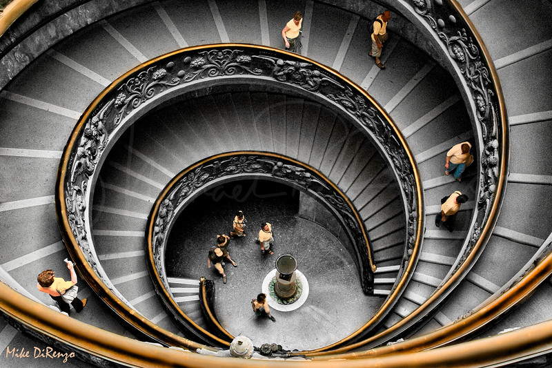 Vatican Spiral Staircase   5724