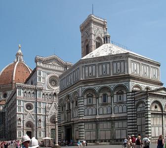 Cattedrale di Santa Maria del Fiore and Baptistry, Firenza