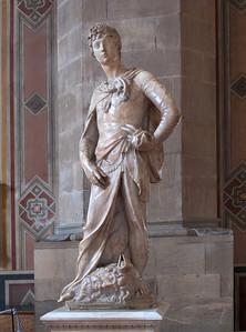 Donatello's David (1408) Museo del Bargello, Firenza