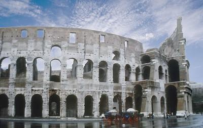 Coliseum Rome Italy - Jan 1979