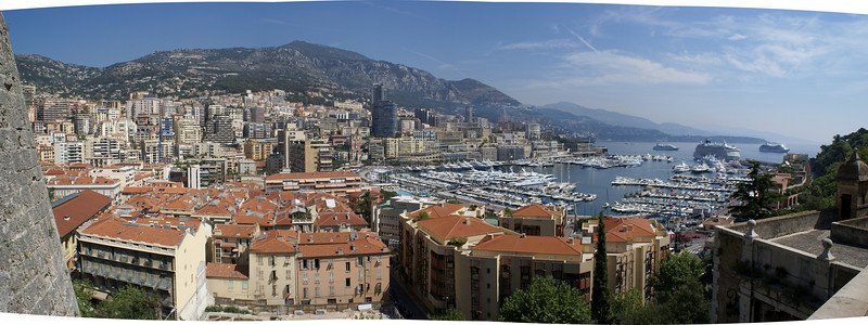 Monaco, France from the fort