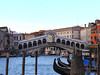 Rialto Bridge. The first bridge was built here in 1181, and this one in 1591.