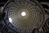 Pantheon dome, Rome, Italy