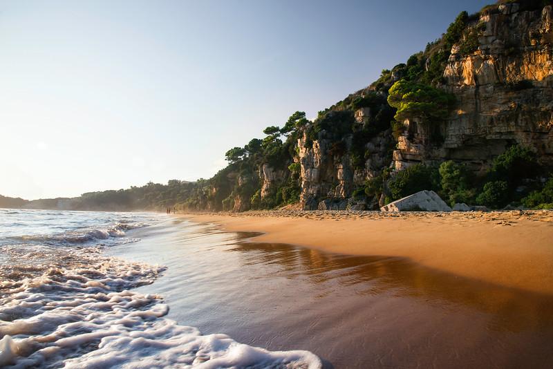 Arenauta beach, Gaeta,  Italy. Feels like Australia doesn't it?