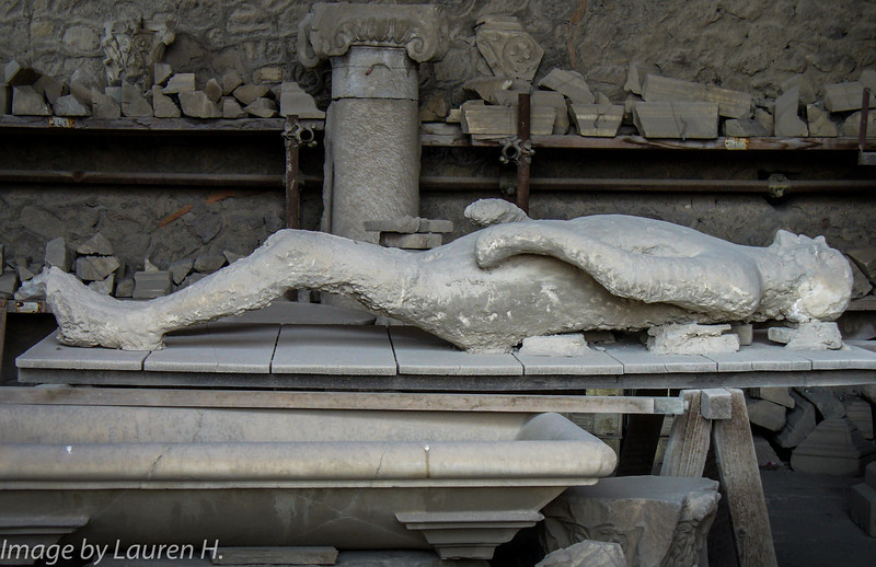 Pompeii, body casts