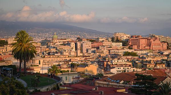 Vesuvius and Spaccanapoli